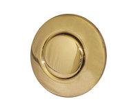 Кнопка пневматическая в цвете FRENCH GOLD